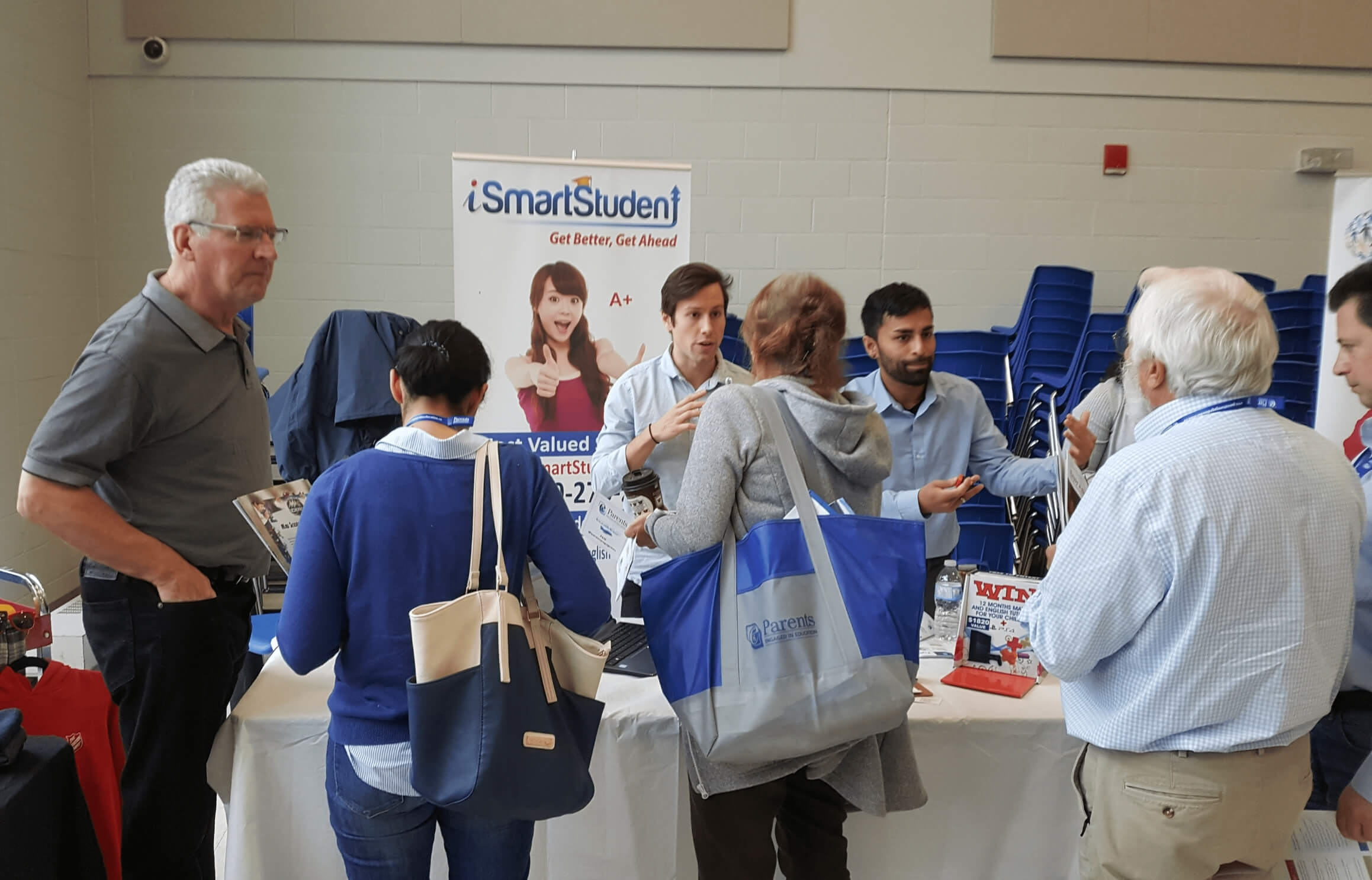 iSmartStudent meets committed parents at the Dream Big School Council Training Symposium